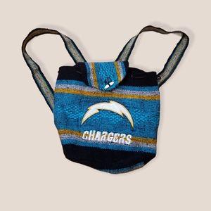 San Diego or LA Chargers drug rug backpack NFL fan